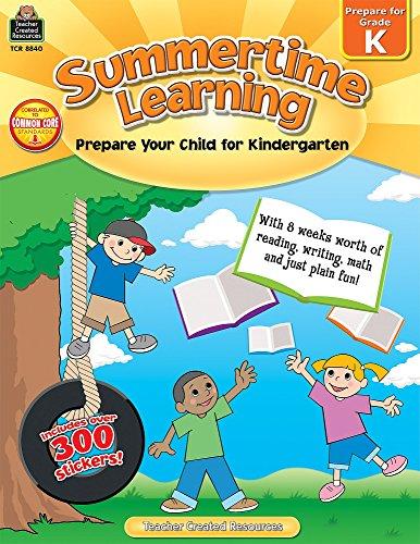 Summertime Learning: Prepare Your Child for Kindergarten