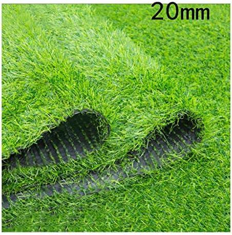 XEWNEG 人工芝芝生カーペット合成マット20ミリメートル高暗号化肥厚偽ターフに適しガーデンウェディングデコレーション (Size : 2x4M)