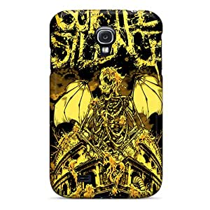 Shockproof Cell-phone Hard Covers For Samsung Galaxy S4 With Provide Private Custom Nice Suicide Silence Skin Marycase88