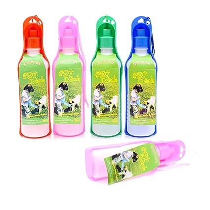 250 ML Portátil Plegable Perro Deporte Botella de Agua Suministro de Mascotas, Al Aire Libre
