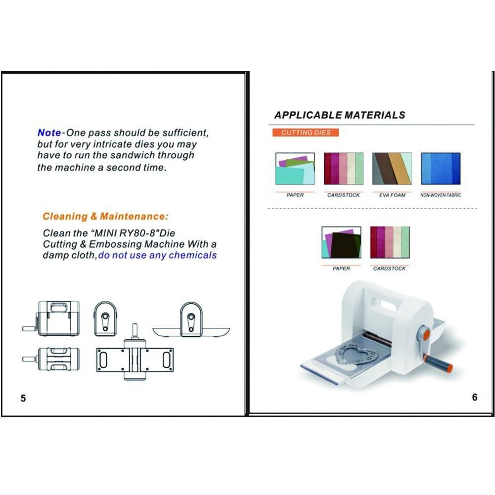Máquina de Troquelado de Scrapbooking DIY Troquelado de Corte Troqueladora de Recortes Máquina de Corte de Papel Troquelado: Amazon.es: Bricolaje y ...