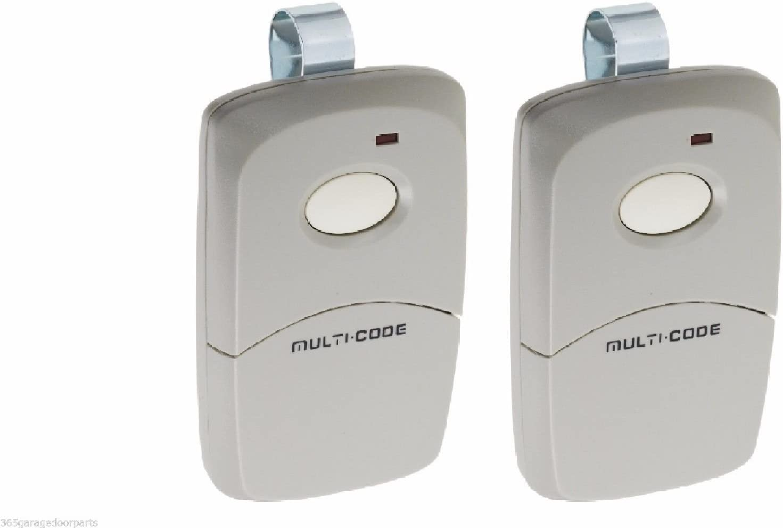 2-Pack Multi-Code 3089 MultiCode 308911 Linear MCS308911 Garage Gate Remote 300m