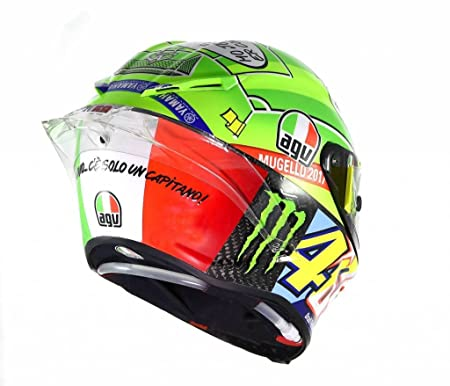 Amazon.com: AGV Pista GP Limited Edition Mugello 2017 Street Motorcycle Helmet - Multicoloured / Medium/Large: Automotive