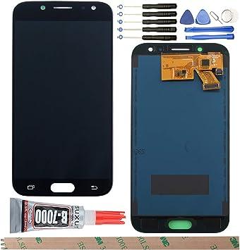 YHX-O para Samsung Galaxy J5 2017 J530 SM-J530F de reparación y sustitución LCD Pantalla táctil digitalizador + Herramientas: Amazon.es: Electrónica