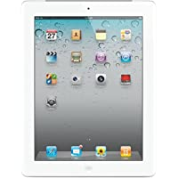 Apple iPad 2 MC979LL/A 2nd Generation Tablet (16GB, Wifi, White) (Certified Refurbished)
