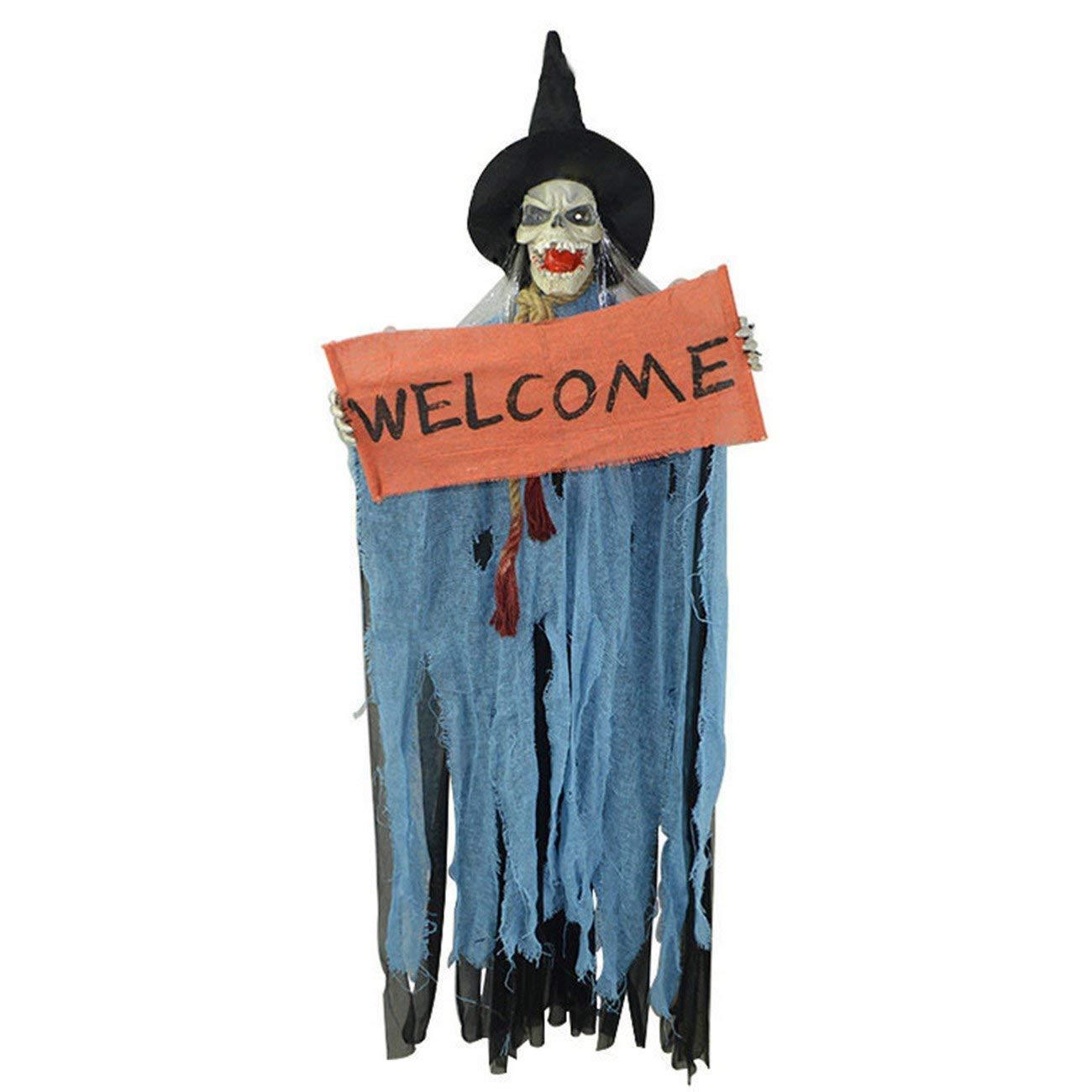 20 Colgantes de Bruja con Colgante de Halloween SUPVOX