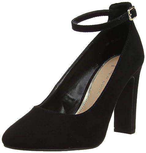 87ffba2a7d78 New Look Wide Foot Rosa Escarpins Bout fermé Femme