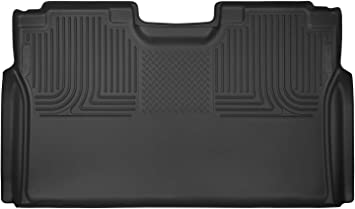 2017-2019 Ford F-250//f-350 Super Duty Crew Cab Pickup WITHOUT factory storage box Husky Liners 53491 Black X-act Contour 2nd Seat Floor Liner Fits 2015-2019 Ford F-150 SuperCrew Cab