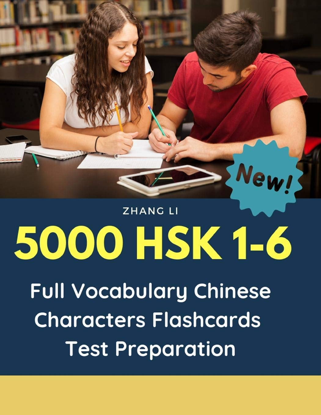 5000 HSK 1 6 Full Vocabulary Chinese Characters Flashcards Test Preparation  Practice Mandarin Chinese Dictionary Guide Books Complete Words Reader ... 123456 To Prepare For Real Test Exam.