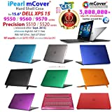 iPearl mCover Hard Shell CASE for 15.6 Dell XPS 15 9550 / Precision 5510 Series (Released After Sept. 2015) Laptop Computer - Blue