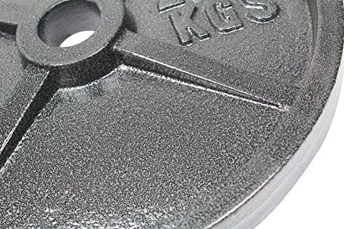 Premier Fitness XPRT Olympic Cast Iron Weight Plate, 45 lb