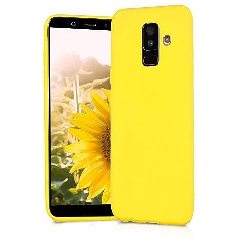 BESTCASESKIN Funda Compatibile con Samsung Galaxy A8 Plus 2018 Carcasa Silicona [Colores del Caramelo] Protector Ultra-Delgado TPU Goma Gel Flexible ...