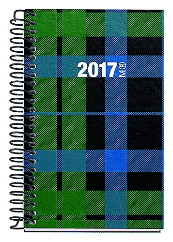 Miquelrius 39028 - Agenda anual espiral, 80x125 mm, semana ...