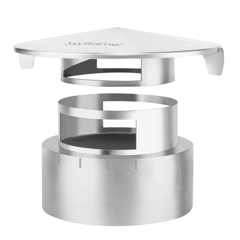 Amazon.com: Skyflame - Tapón de rejilla de rejilla de acero ...