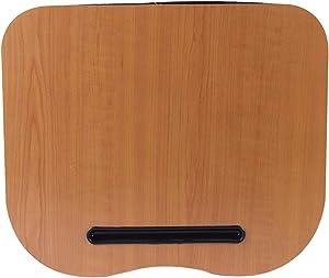 EMVANV Portable Laptop Pad, Lap Desk Home Laptop Desk Cushion Lap Tray Convenience Portable Multifunction Knee Travel