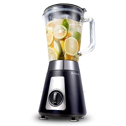 ANHPI Exprimidor Casa Pequeña Máquina De Cocción Multifuncional Máquina De Leche De Soja Automática Mezclador De