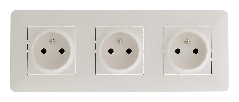 Interrupteur automatique compatible LED Blanc
