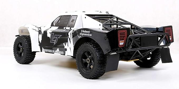 Monster Truck Coche Remoto por Todo Terreno Equipado con un motor fijo de gasolina de 36 puntos y cuatro cilindros refrigerado por aire, de dos tiempos, ...