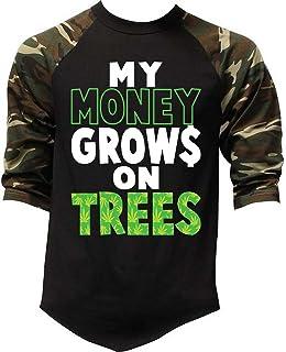 Mens My Money Grows On Trees Sleeveless Vest Hoodie