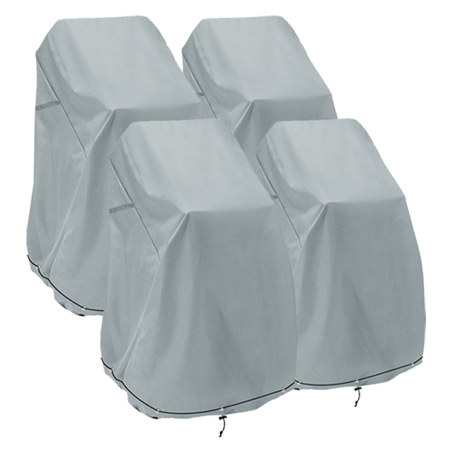 Amazon.com : Patio Chair Cover, Bar Chair/Stool Cover, Stackable ...