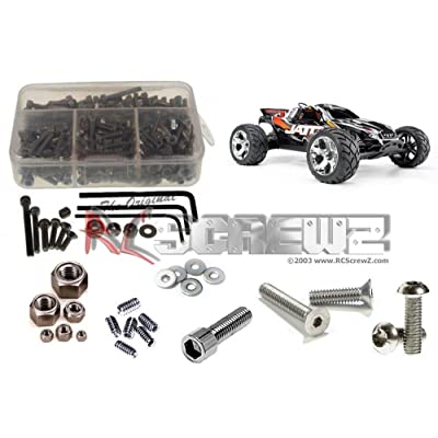 RC Screwz Traxxas Jato 3.3 Stainless Steel Screw Kit: Toys & Games