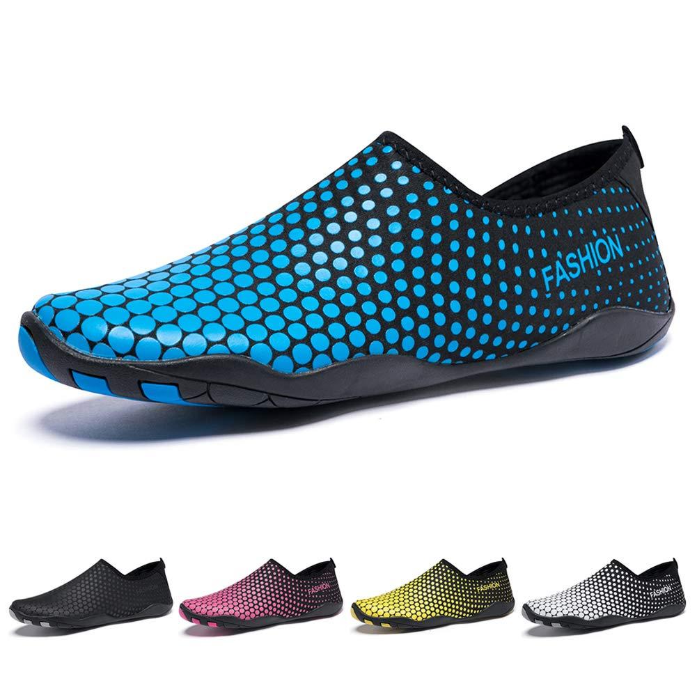 Madaleno Badeschuhe Wasserschuhe Strandschuhe Aqua Schuhe Surfschuhe Schwimmschuhe Schnelltrocknend für Herren Damen