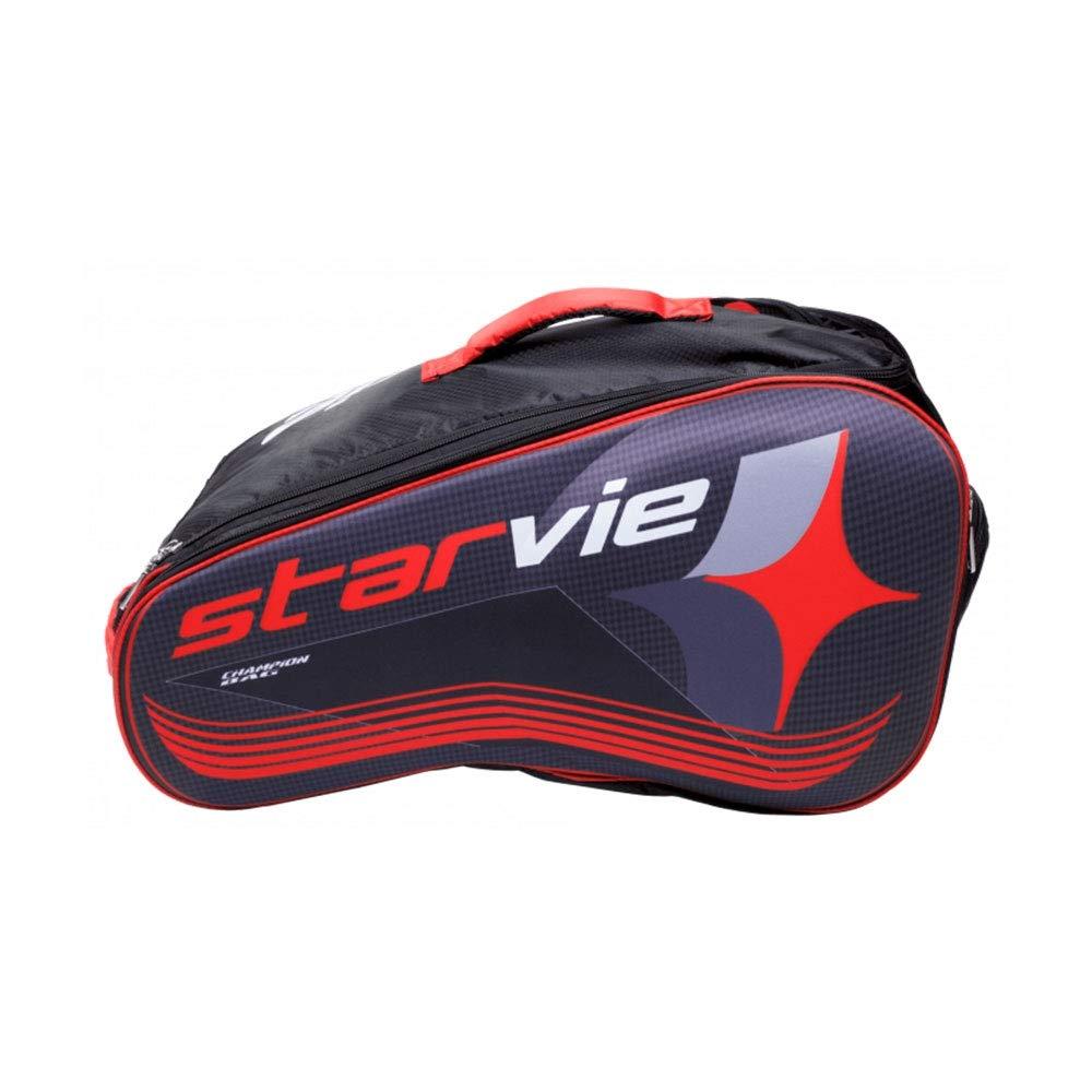 Amazon.com: Starvie - Bolsa de padel, color rojo: Sports ...