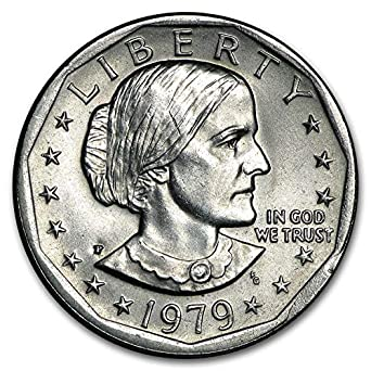 "1979 P Susan B Anthony Dollar US Mint Coin /""Brilliant Uncirculated/"" SBA"