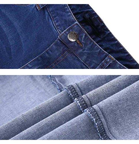 Pantalons Jeans Lavage Pantalons Automne Femmes Printemps Uss Et Lightblue Pantalons Femmes GZHGF Occasionnels Des Droits Stretch Printemps dXxUwqw1T