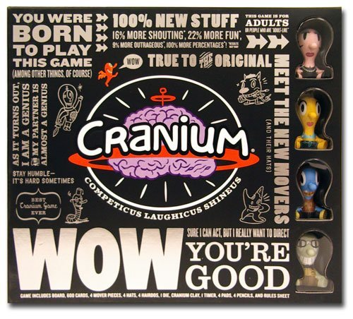 Cranium Wow Board Game