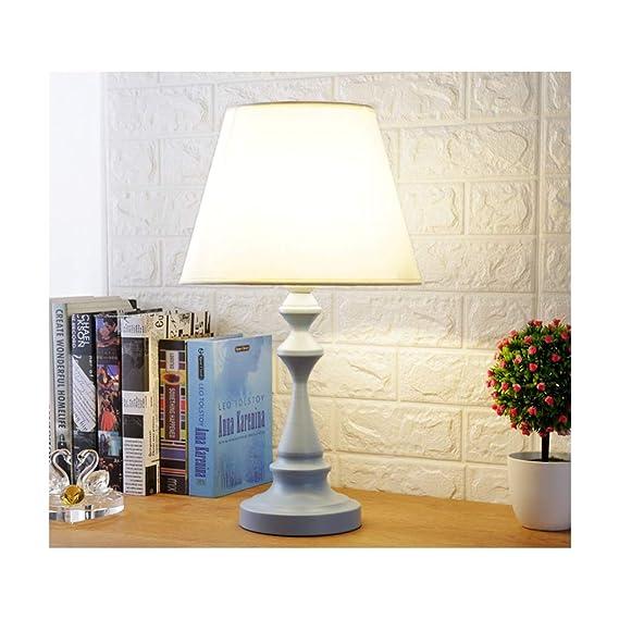 Lámpara de Cabecera Lámpara de Mesa Moderna Creativa E27 Lámpara ...