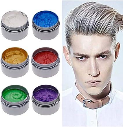 Tinte en cera, de Niceyo, temporal y para modelado, fácil de usar y limpiar, en tarros de 120 ml, gris