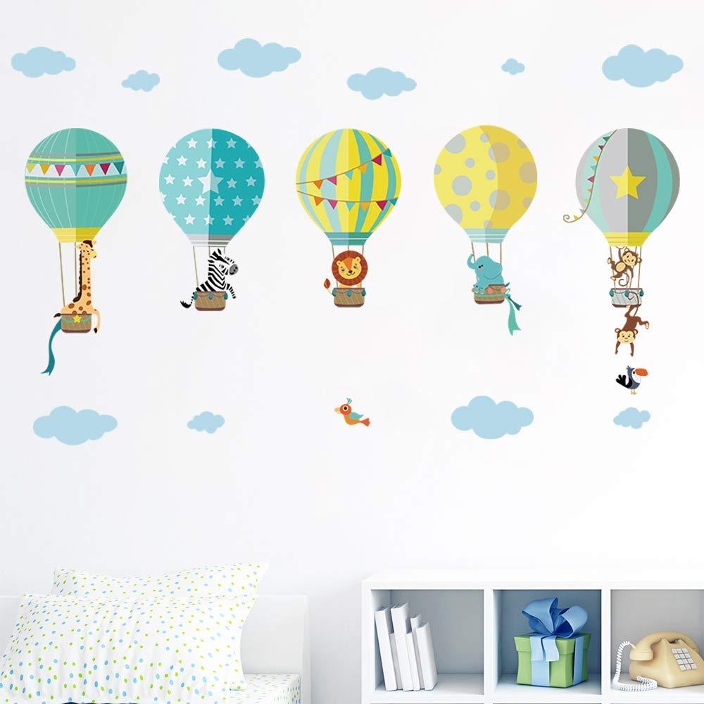 Vinilo Decorativo Pared [7G4W4WLF] globos aereos
