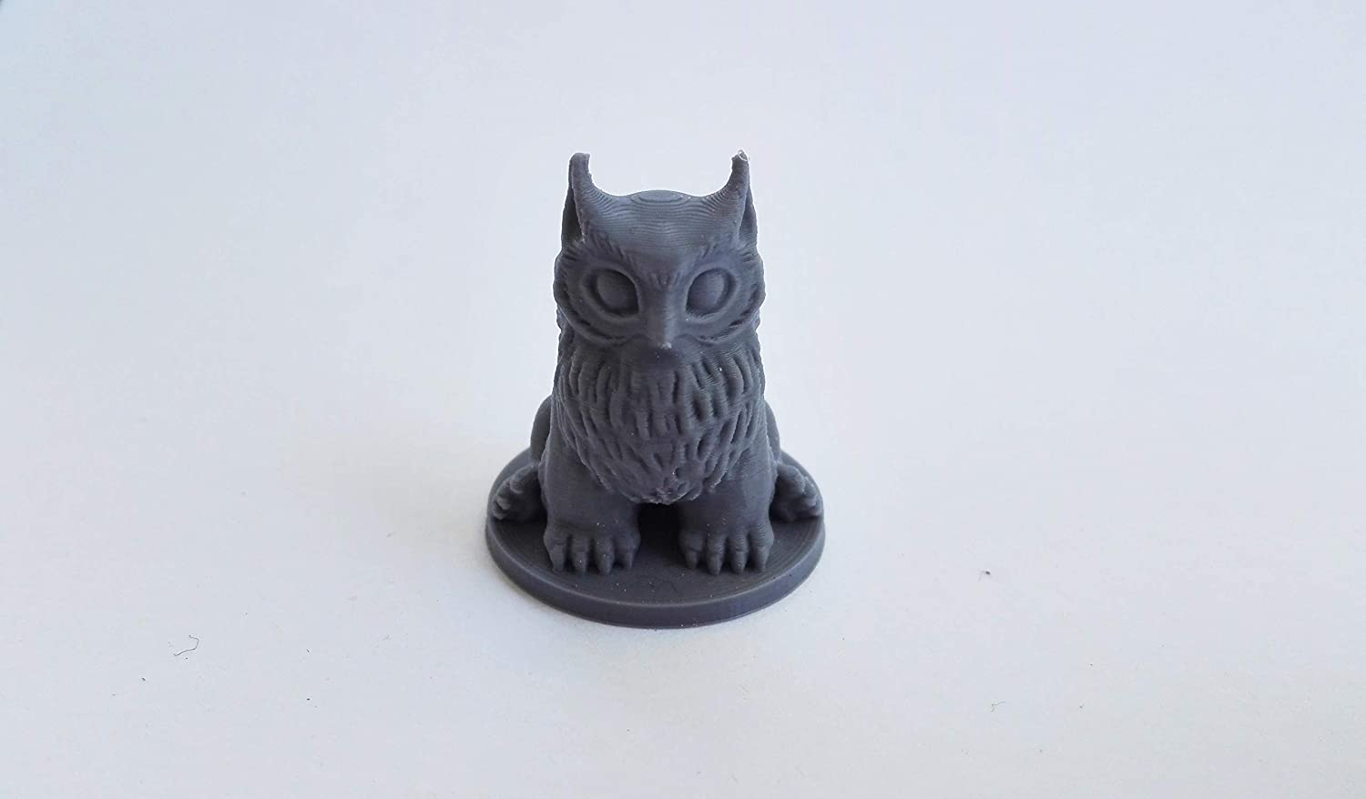 Baby Owlbear DnD Dungeons and Dragons Tabletop Minature 3D-Printed 12 Colors