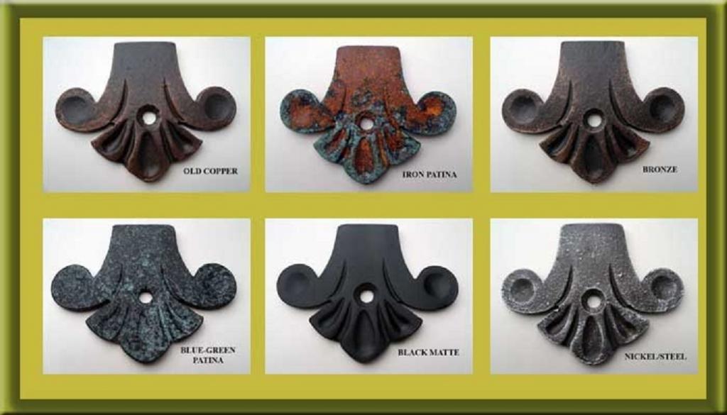 Shoreline Decorative 7 1/2''D X 10''L Heavy Duty 1'' Standard''C'' Shelf Bracket for Granite or Other Interior/Exterior Angle Support Use-Bronze by Shoreline Ornamental Iron