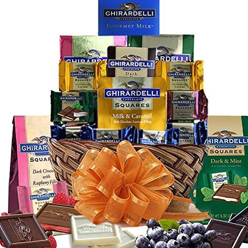 Grand Ghiradelli Chocolate Gift Basket a Beautiful Array of Sweets by Gift Basket