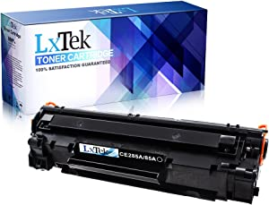 LxTek Compatible Toner Cartridge Replacement for HP 85A CE285A to use with LaserJet Pro P1102w, P1109w, P1102, P1109 Printer (1 Black)
