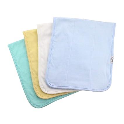 Honey Blossom Luxury Bamboo//Organic Cotton Extra-Large Muslin Square Pink White Blue