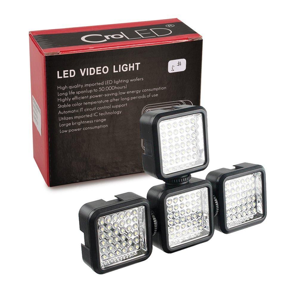 Croled Mini Leuchte Mit 4w Und 36 Leds Kamera Automatic Low Power Emergency Light