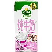 Arla 爱氏晨曦 脱脂牛奶 200ml*24 整箱装(德国进口)