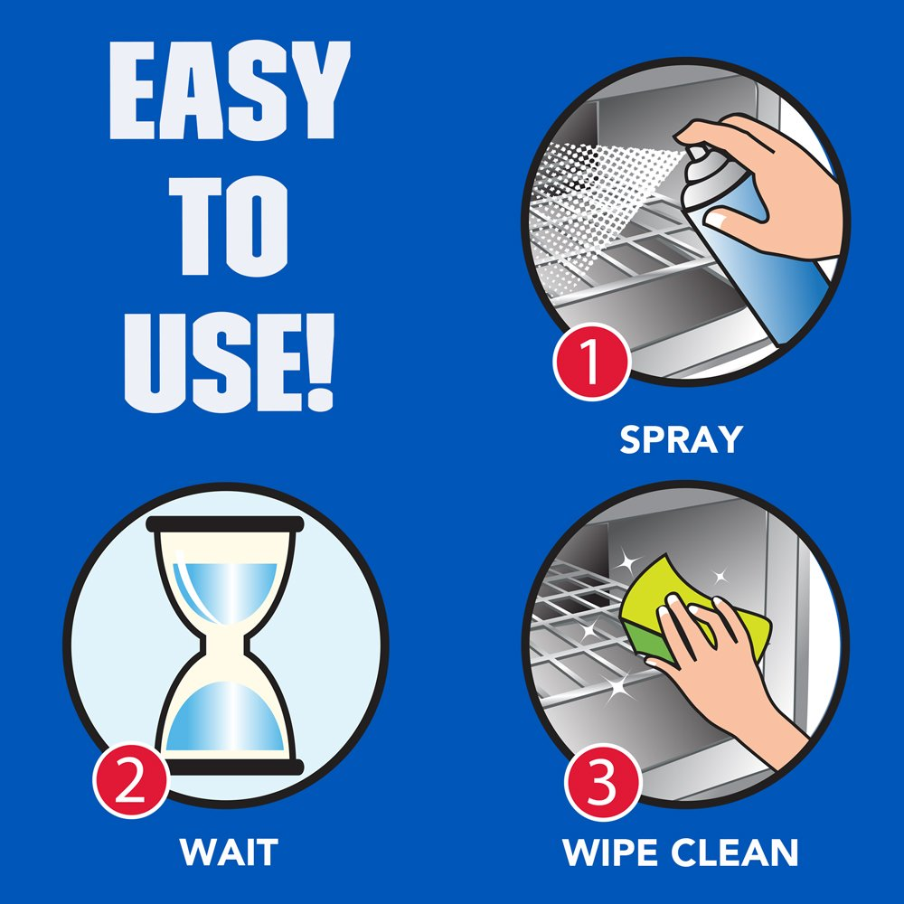 EASY-Off 178 Oven Cleaner Fume Free Max Aerosol, 16 Oz, (Pack of 12) by Easy Off (Image #6)