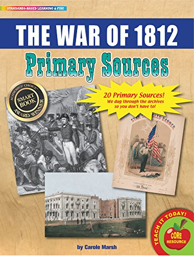 GALVJ The War of 1812 Primary Sources Pack (9780635131591) ()
