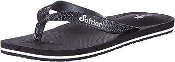 49e3a44a8232 Softior Mens Arch Support Cushioned Foam Footbed Flip-Flop Beach Shoe  Slipper Thong