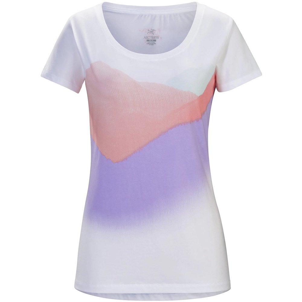 アークテリクス(アークテリクス) Amidst SS T-Shirt Ws L07037400-White/Lamium Pink M ピンク B079DHGRN3