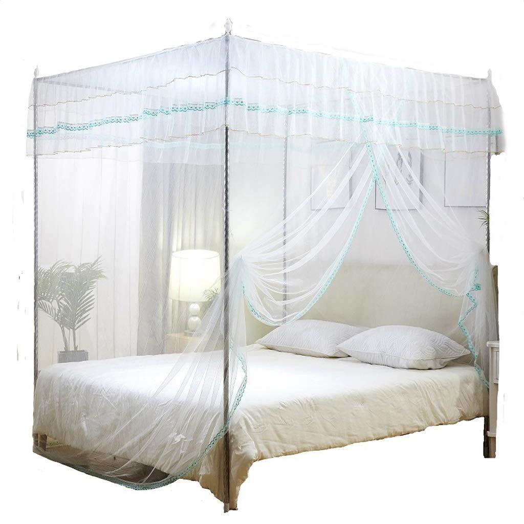 蚊帳、大型蚊帳、最大蚊帳保護、皮膚刺激なし、虫除け自然、シングルドア (色 : 白, サイズ さいず : L l) B07NSKQ132 白 L l