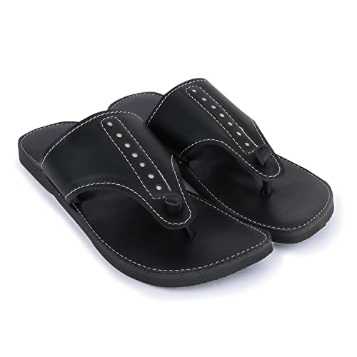 2caed1ab5377 PADUKI Casual Stylish Sandals and Floaters Sandals for Men Black  Buy  Online at Low Prices in India - Amazon.in