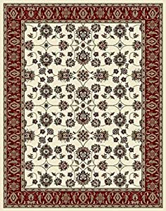 Amazon Com Large Rugs For Living Room 8x10 Ivory