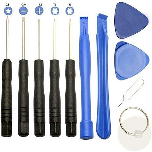 DUANDETAO JF-17010301 7 in 1 Repair Tool Set for iPhone for Samsung