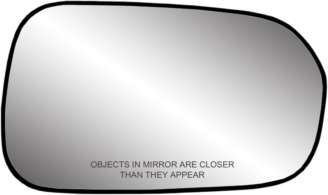 Amazon Com Fit System 80087 Passenger Side Non Heated Replacement Mirror Glass With Backing Plate Automotive