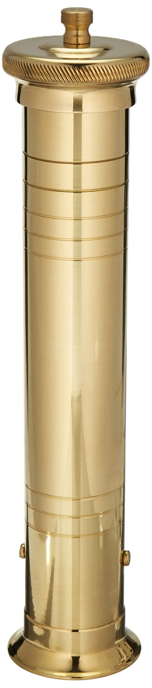 Pepper Mill Imports Maître d' Pepper Mill, Brass, 12'' by Pepper Mill Imports